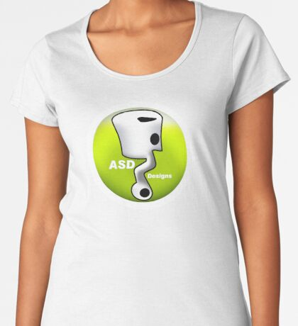 ASD Lime color Women's Premium T-Shirt
