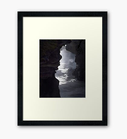 In The Gorge Framed Print
