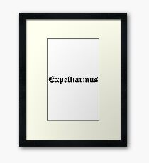 Expelliarmus Framed Print