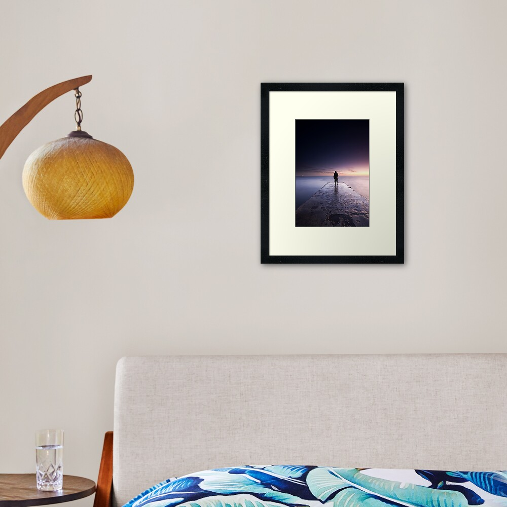 watching Framed Art Print