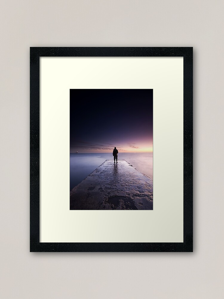 Alternate view of watching Framed Art Print