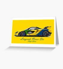 McSenna - Senna Inspired Greeting Card