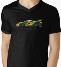 McSenna - Senna Inspired Men's V-Neck T-Shirt