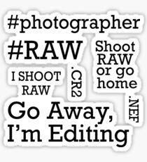 Photography Sticker Bundle  Sticker