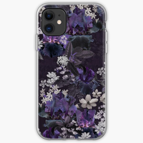 Lalia Dark Floral iPhone Soft Case