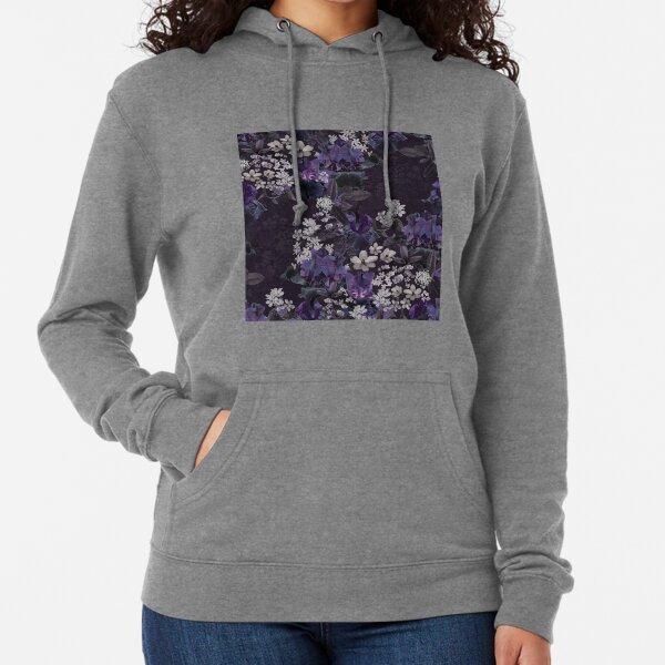 Lalia Dark Floral Lightweight Hoodie