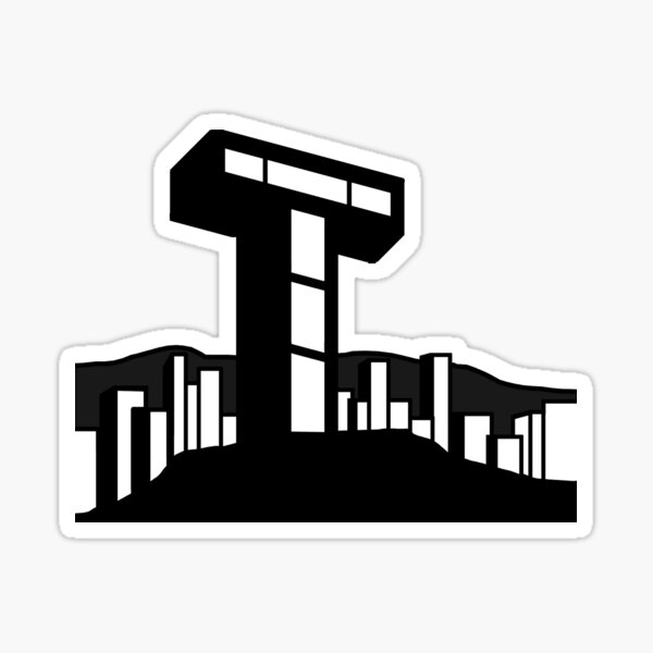 Teen Tower Sticker