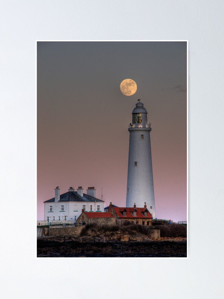 Alternate view of St Mary's moon Poster