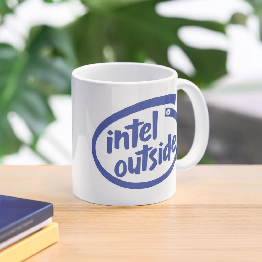 Freaky Logo - Intel Outside Mug