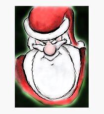 Santa's sly eyes Photographic Print