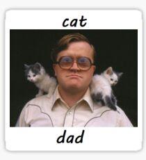 Bubbles, Cat Dad (Trailer Park Boys) Sticker