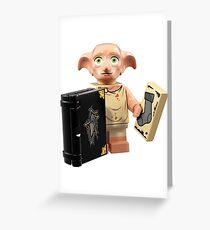 Lego Dobby Greeting Card