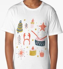 Christmas with Toys Long T-Shirt