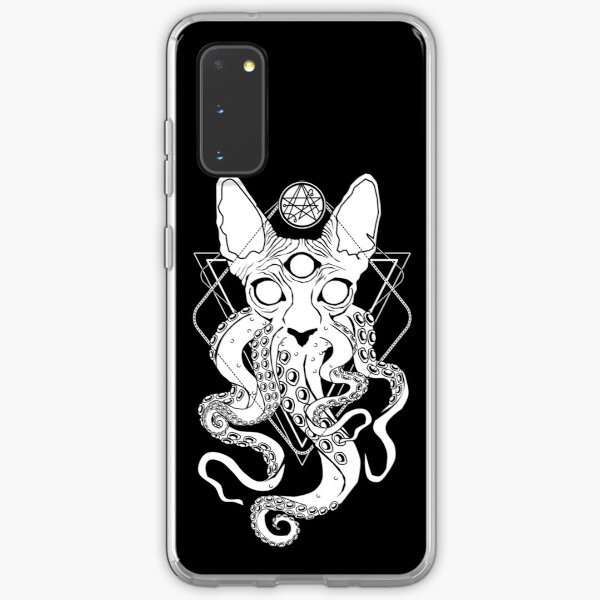 CATHULHU - the cosmic tentacle cat Samsung Galaxy Soft Case
