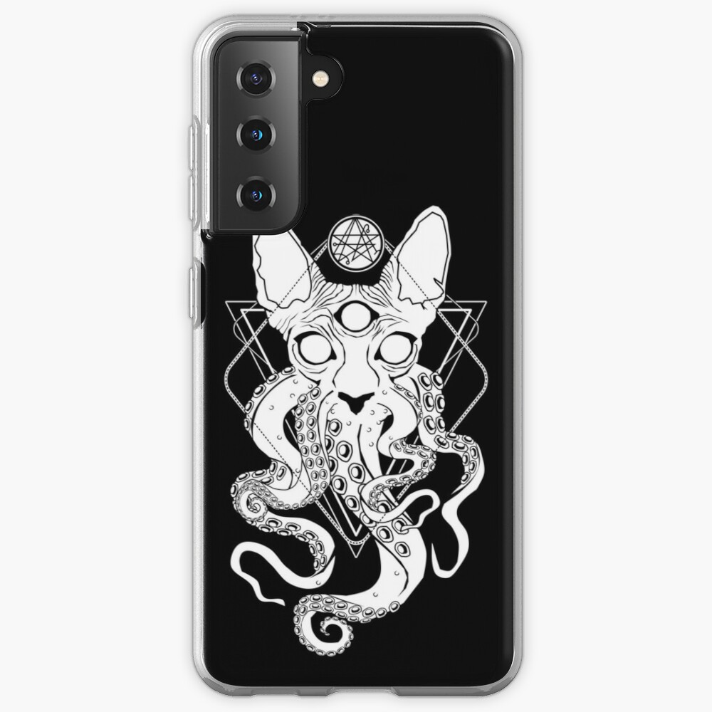 CATHULHU - the cosmic tentacle cat Case & Skin for Samsung Galaxy