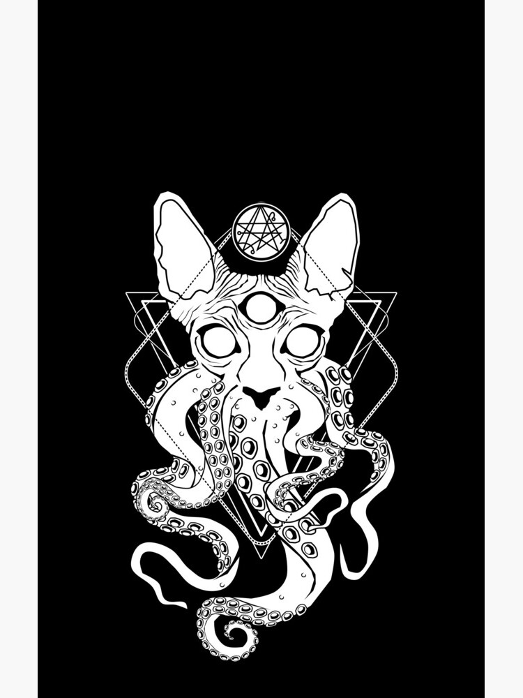 CATHULHU - the cosmic tentacle cat by VonKowen