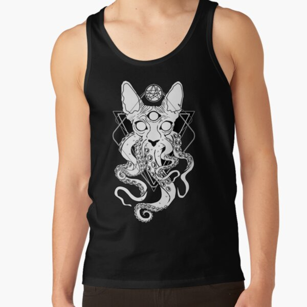CATHULHU - the cosmic tentacle cat Tank Top