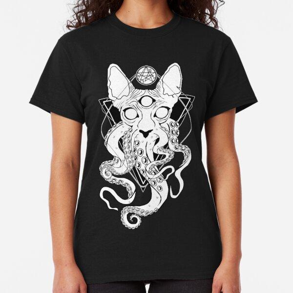 CATHULHU - the cosmic tentacle cat Classic T-Shirt