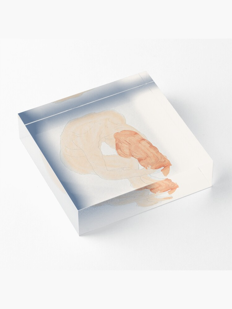 Alternate view of The hairwash II - after Rodin  Acrylic Block