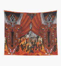 Fire Dragon Wall Tapestry