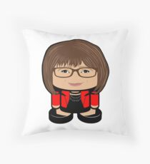 Love Quest POLITICO'BOT Toy Robot Throw Pillow