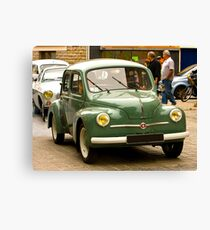 Renault 4Cv - Vintage French Car Canvas Print