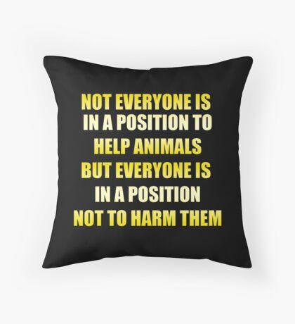 Not Everyone  Throw Pillow