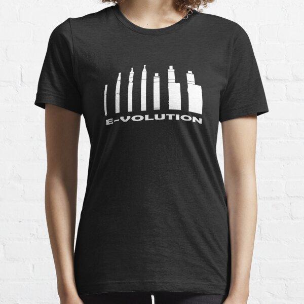 Vape Hardware Evolution Black and White Essential T-Shirt