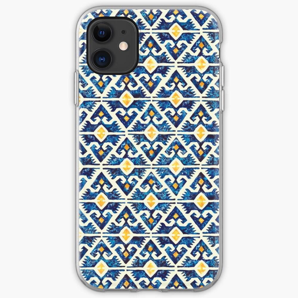 Thunderbird Kilim Watercolor iPhone Case & Cover
