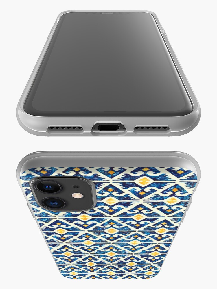 Alternate view of Thunderbird Kilim Watercolor iPhone Case & Cover