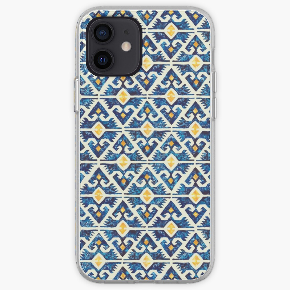 Thunderbird Kilim Watercolor iPhone Case & Cover
