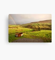 A pot of gold in the fields of Kerry Canvas Print