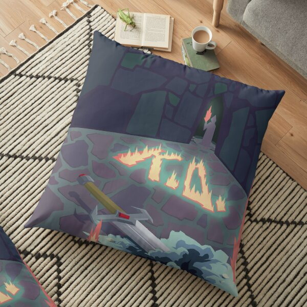 K.O. Part 2 Floor Pillow