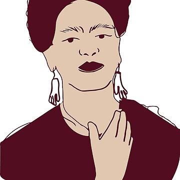 Frida digital illustration by degreek