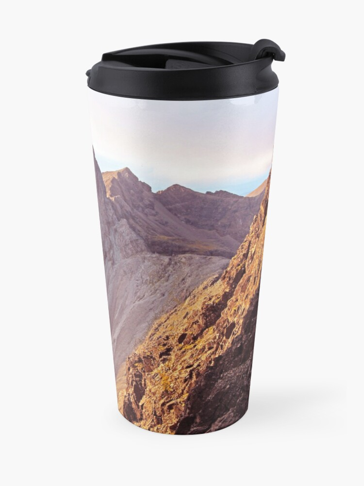 Alternate view of From The Great Stone Chute Travel Mug