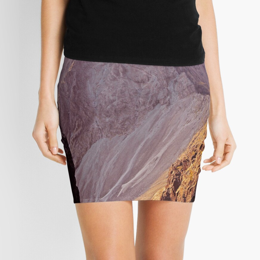 From The Great Stone Chute Mini Skirt