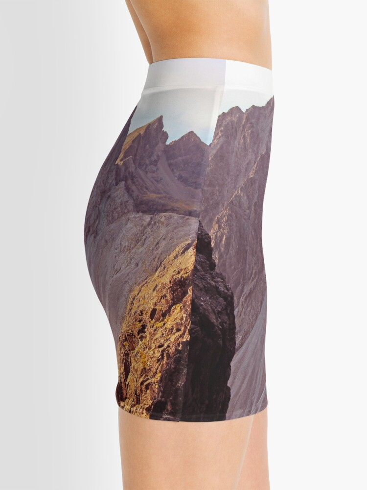Alternate view of From The Great Stone Chute Mini Skirt