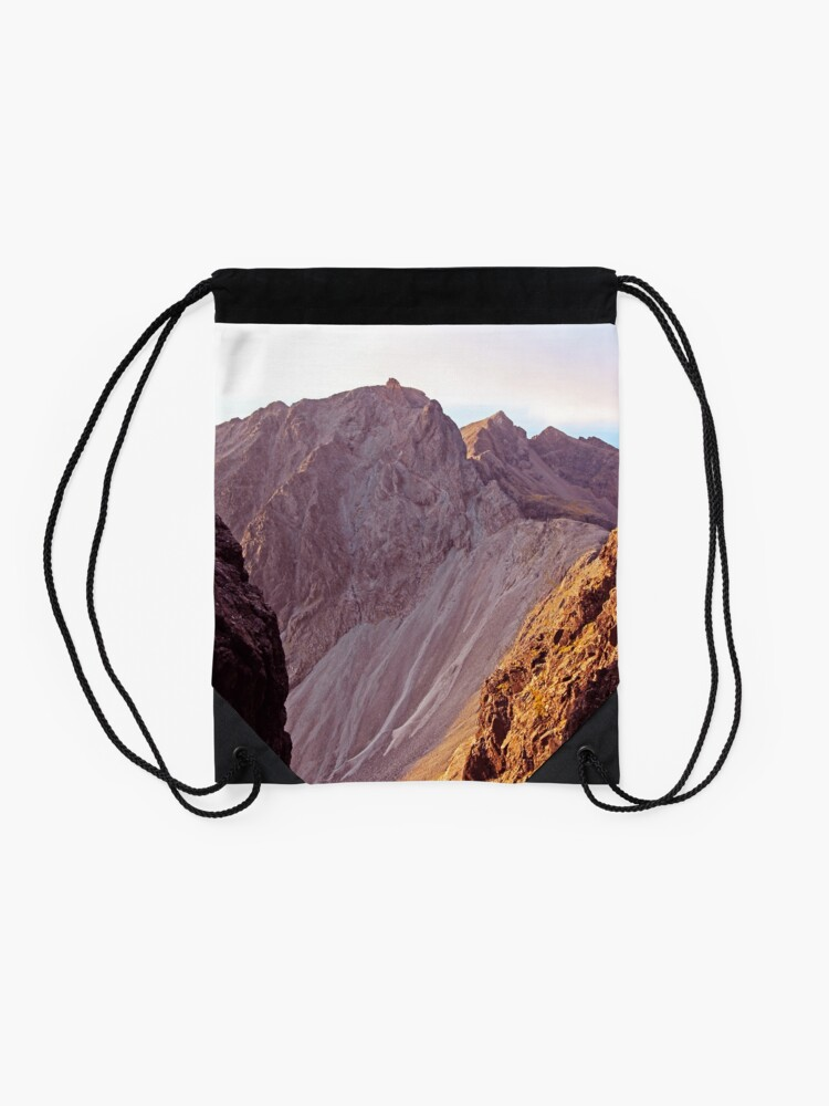 Alternate view of From The Great Stone Chute Drawstring Bag