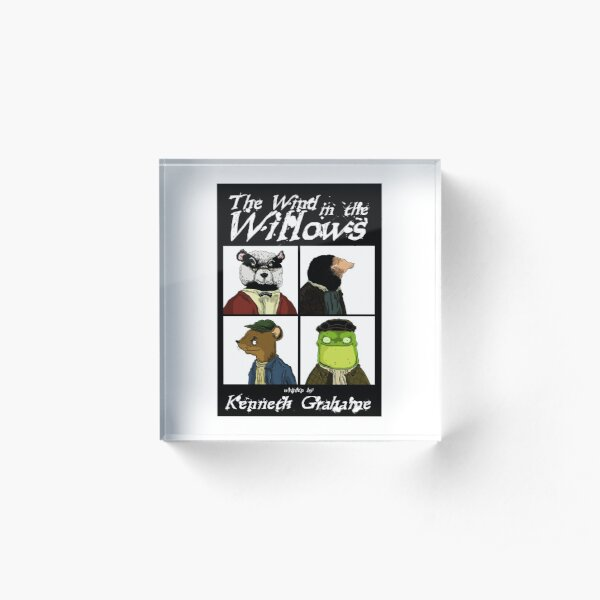 The Wind In The Willows Acrylic Block