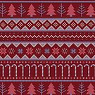 Christmas Sweater in Red by latheandquill