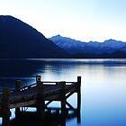 Lake Wanaka.....before Sunrise.....South Island of New Zealand by Imi Koetz