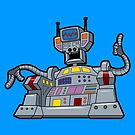 M.E.L. the Master Electronic Leader  by robotghost
