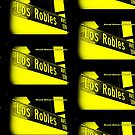 Los Robles Avenue BLACK & YELLOW Pasadena California by Mistah Wilson Photography by MistahWilson