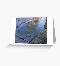 Flooding Greeting Card