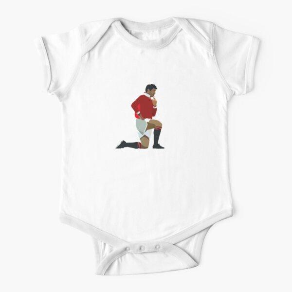 Manchester United Legend Eric Cantona Short Sleeve Baby One-Piece