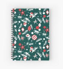 1960 Holiday Spiral Notebook