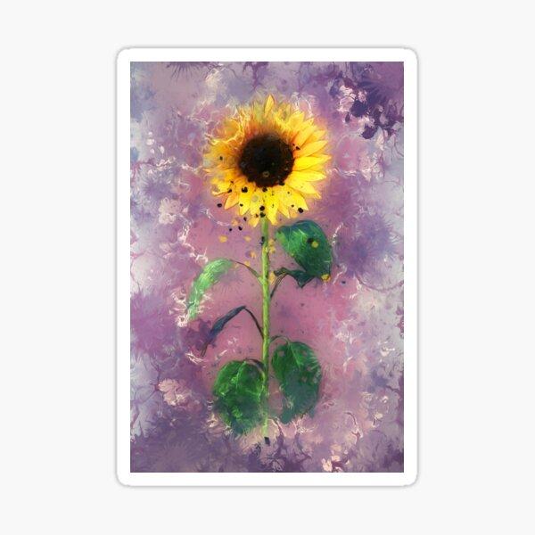 Sonnenblume 2 Sticker