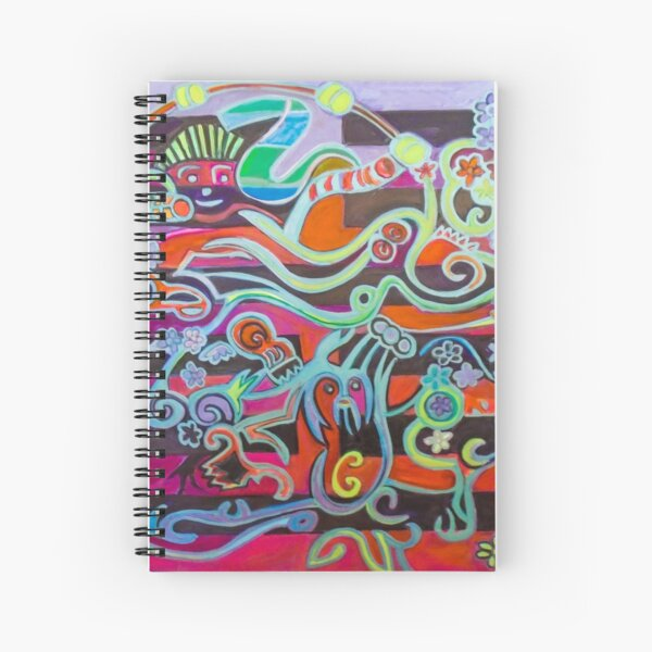 Hexagram 51: Zhen (Thunder) Spiral Notebook