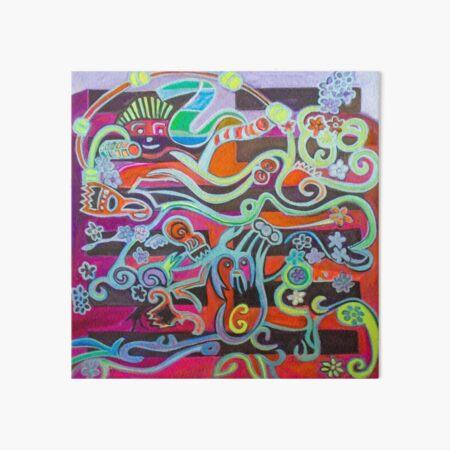 Hexagram 51: Zhen (Thunder) Art Board Print