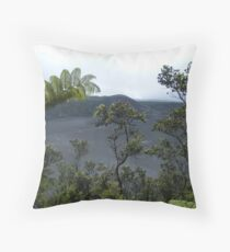 Kilauea Iki Volcano..... Throw Pillow